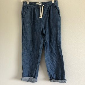 Old Navy Loose Ample Cuffed Jeans Sz 14
